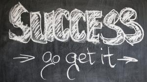 El éxito hay que buscarlo