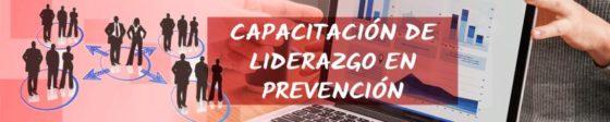 Capacitacion de liderazgo en prevencion